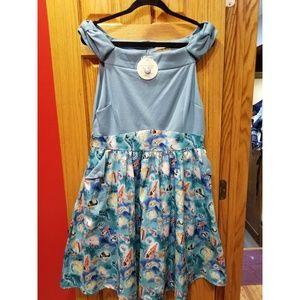 UK 16/US 12 NWT Lindy Bop Carla Seashell Dress